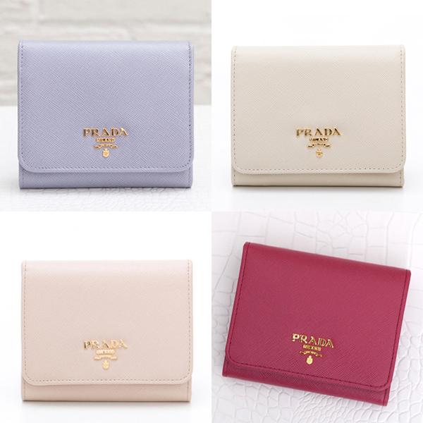 6a33261b7c0b PRADA サフィアーノ 三つ折り財布 1M0176 – La Galleria Blog
