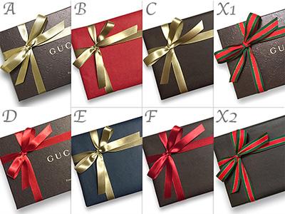 グッチ クリスマスプレゼント 財布 箱 ボックス ラッピング ギフト包装