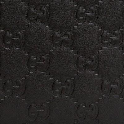 グッチ メンズ グッチッシマ 二つ折り財布 男性 ブラック 黒 オリジナルGGパターン
