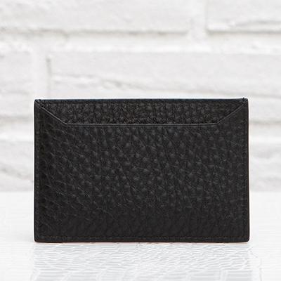 プラダ グレインレザー カードケース パスケース ブラック 黒