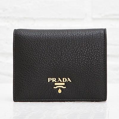 プラダ ミニ財布 ブラック 財布