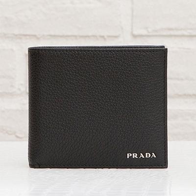 プラダ 財布 メンズ ブラック