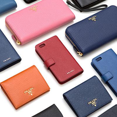 プラダ 財布 ピンク ミニ財布 サフィアーノ iPhoneケース