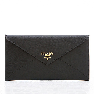 プラダ マルチケース お札入れ 財布 ブラック 黒