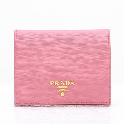 プラダ 財布 ピンク ミニ財布 二つ折り