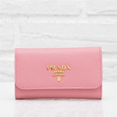 プラダ サフィアーノ キーケース ピンク