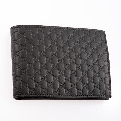 グッチ 財布 メンズ GG柄 ブラック 黒