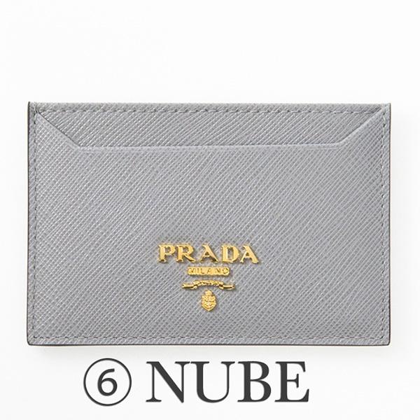 プラダ サフィアーノ カードケース IC パスケース グレー