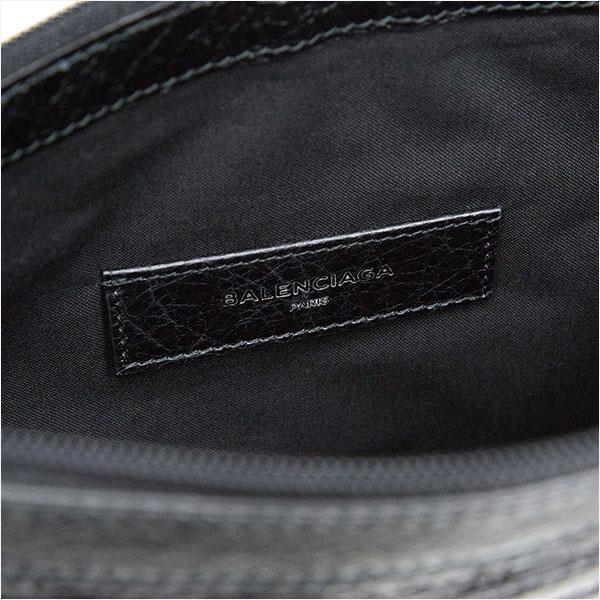 バレンシアガ クラッチバッグ CLIP Mサイズ ブラック