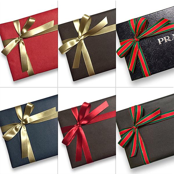 プラダ 財布 クリスマスプレゼント ギフトラッピング