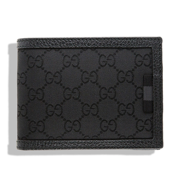 グッチ 財布 ブラック 黒 メンズ GG キャンバス