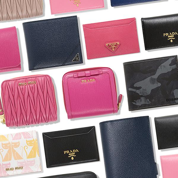 プラダ ミュウミュウ 財布 カードケース