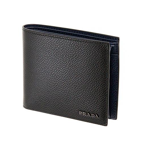 プラダ 財布 メンズ ブラック 黒